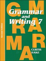 Saxon Grammar & Writing Grade 7 Student Text, 2nd Edition