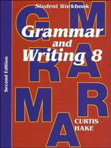 Saxon Grammar & Writing Grade 8 Student Workbook, 2nd Edition