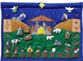 Nativity II Advent Fabric Calendar