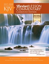KJV Standard Lesson Commentary 2017-2018 Hardcover Edition
