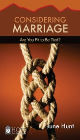 Considering Marriage: Are You Fit to Be Tied? - eBook