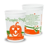 Pumpkin Prayer Cups