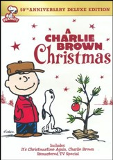 A Charlie Brown Christmas, 50th Anniversary Deluxe Edition, DVD