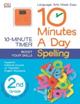 10 Minutes a Day: Spelling Grade 2