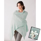 Giving Shawl and Bookmark, Sage Green