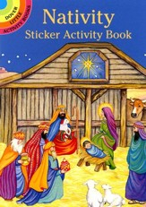 Nativity Sticker Activity Book  - Slightly Imperfect