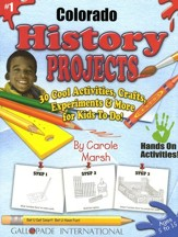 Colorado History Project Book, Grades K-8