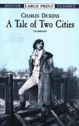 A Tale of Two Cities, Large Print