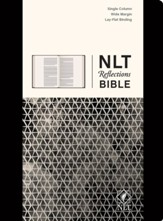 NLT Reflections: The Bible for Journaling, Hardcover Black