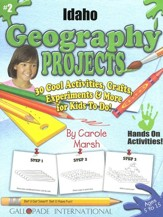 Idaho Geography Project Book, Grades K-8
