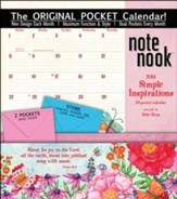 2018 Simple Inspirations Note Nook Wall Calendar