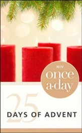 Once-A-Day 25 Days of Advent Devotional - Slightly Imperfect