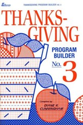 Thanksgiving Program Builder