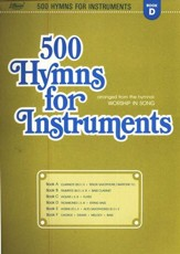 500 Hymns for Instruments Book D