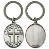 Servant of God Pewter Keyring