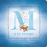 M is for Manger, Board Book