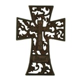 Blessed Cast Iron Wall Cross