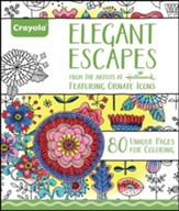 Elegant Escapes Coloring Book for Adults