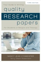 Quality Research Papers: For Students of Religion and Theology / Special edition - eBook