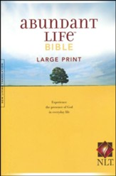 NLT Abundant Life Bible, Large-Print, Case of 12
