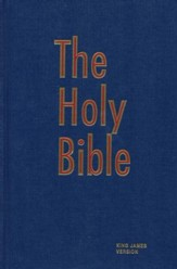 KJV Pew Bible, Blue