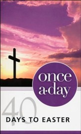 NIV Once-A-Day: 40 Days to Easter