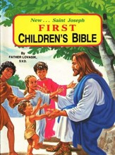 New...Saint Joseph First Children's Bible, Hardcover