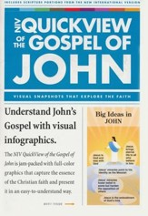 QuickView of the Gospel of John, Softcover - Slightly Imperfect