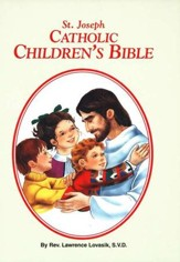St. Joseph Catholic Children's Bible, Hardcover