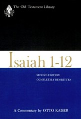 Isaiah 1-12: Old Testament Library [OTL] (Hardcover)