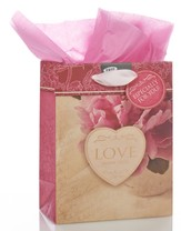 Love Never Fails, Small Gift Bag