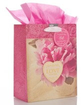 Love Never Fails, Medium Gift Bag