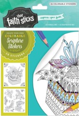 Psalm 16:11 Colorable Stickers