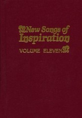 New Songs Of Inspiration, Volume Eleven,  hardcover, burgundy-Hymnal