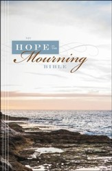 NIV Hope in the Mourning Bible: Finding Strength Through God's Eternal Perspective, Hardcover, Jacketed Printed