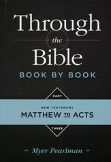 Through the Bible Book by Book: Volume 3:New