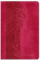 NIV Pocket Bible, Italian Duo-Tone, Razzleberry