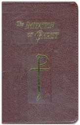 The Imitation of Christ, Burgundy Bonded Leather,   Zippered