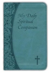 My Daily Spiritual Companion, Imitation Leather Green/Blue