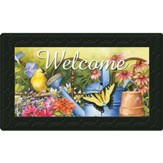 Welcome, Planting Time Doormat