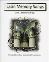Latin Memory Songs--Book and CD