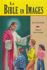 La Bible en Images, French Edition, Saint Joseph   Edition