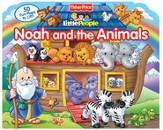 Fisher Price Little People Lift-the-Flap Noah and the Animals