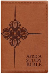 NLT Africa Study Bible, Soft Imitation Leather, Brown