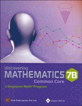 Dimensions Mathematics Textbook 7B (Common Core State Standards Edition)