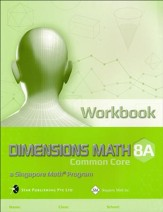 Dimensions Mathematics Workbook 8A (Common Core State Standards Edition)