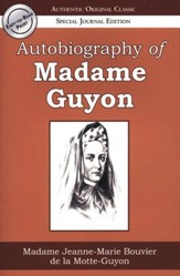Autobiography of Madame Guyon, Large Print