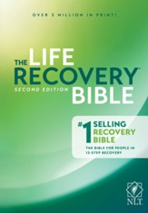 NLT The Life Recovery Bible, Hardcover - Slightly Imperfect