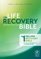NLT The Life Recovery Bible, Softcover