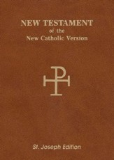 NAB Saint Joseph Vest Pocket New Testament, Paper, Brown